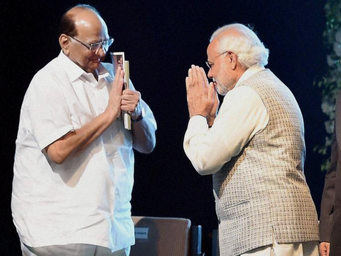 LIVE: महाराष्ट्र में सियासी तूफान के बीच PM मोदी से मिलने पहुंचे शरद पवार