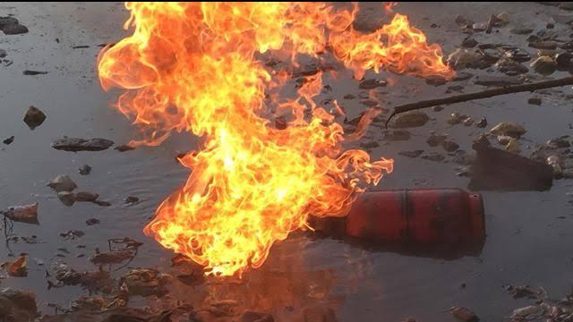 बस्तीः गैस मिस्त्री की लापरवाही से एक ही परिवार के 6 लोग घायल, 2 की हालत नाजुक