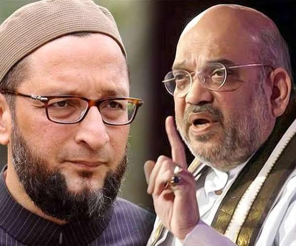 अमित शाह ने ओवैसी के बयान पर कहा- हमें मुसलमानों से कोई नफरत नहीं, आप भी नफरत पैदा मत करना