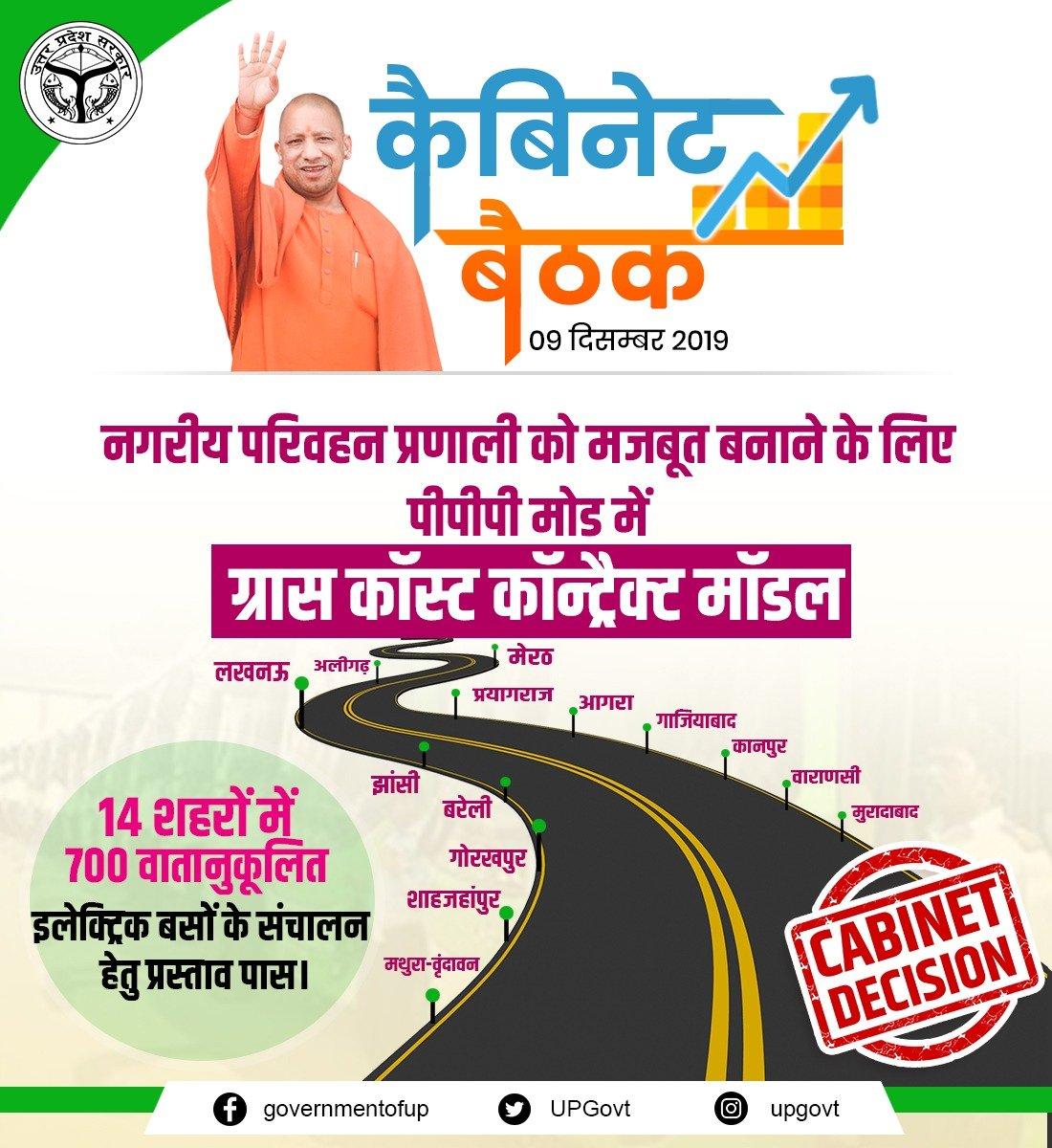 UP:लखनऊ, कानपुर समेत 14 शहरों में चलेंगी इलेक्ट्रिक एसी बसें