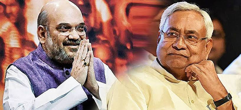 अमित शाह ने नीतीश को बिहार में NDA का नेता बोला – और लगे हाथ हदें भी बता दी