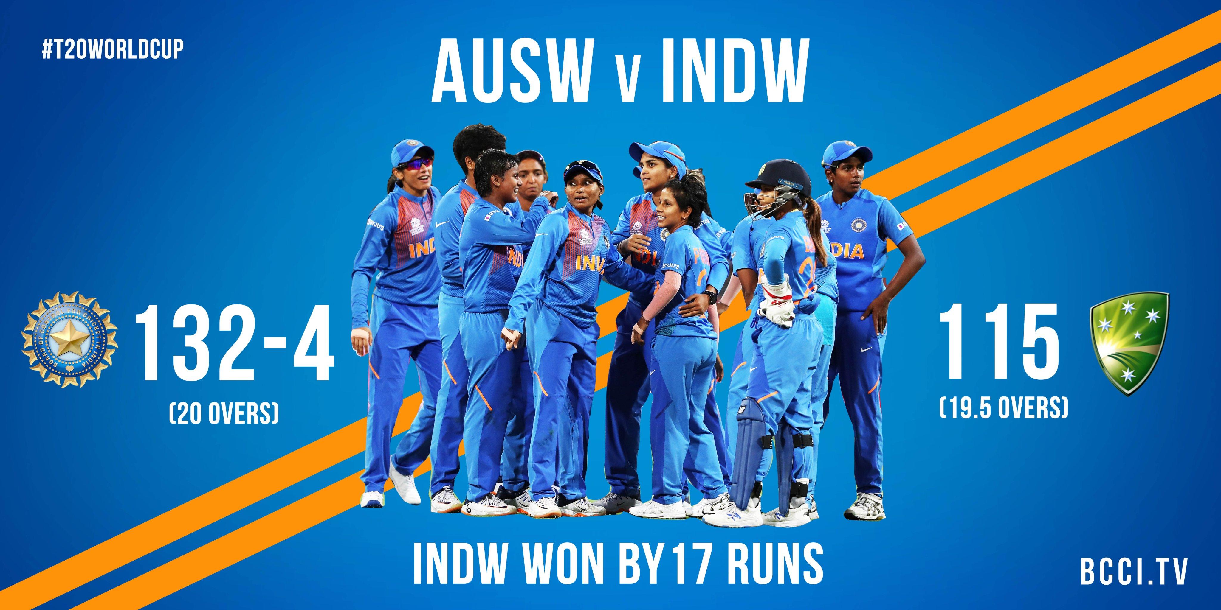 पूनम यादव ने महिला टी20 वर्ल्ड कप में किया अपना सर्वश्रेष्ठ प्रदर्शन, बनीं प्लेयर ऑफ द मैच