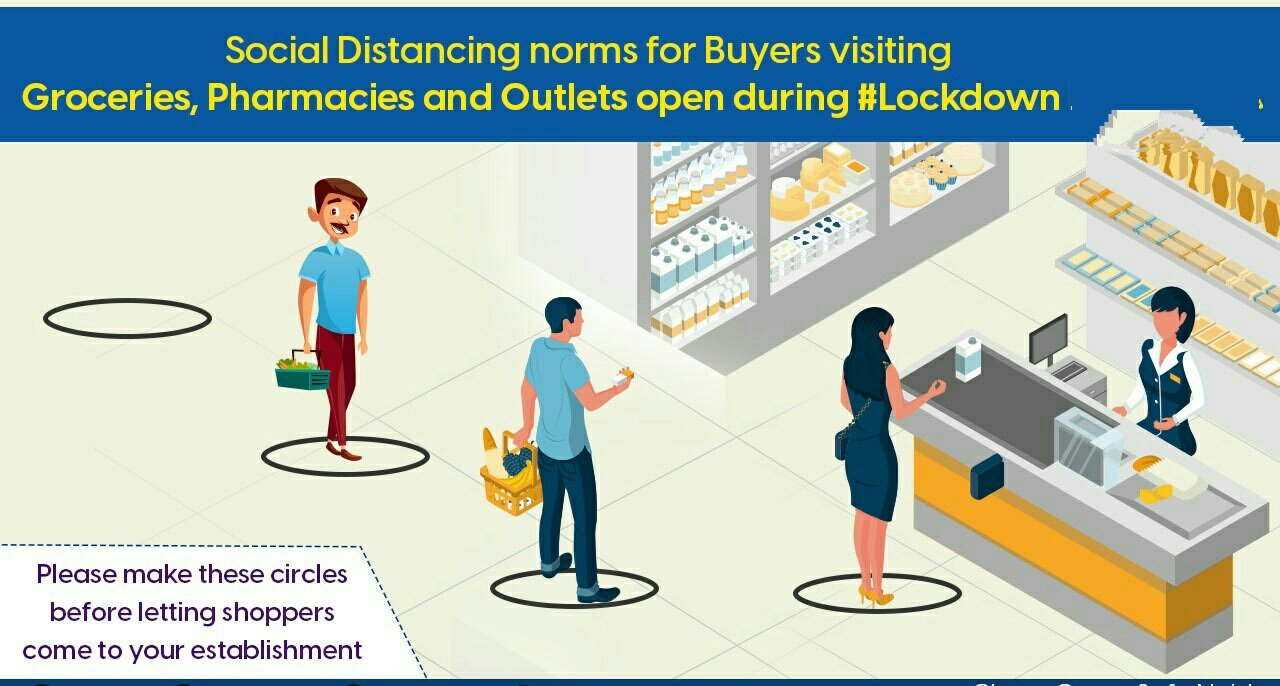 बस्ती: लाक डाउन में इन दुकानों पर मिलेगा ज़रूरत का सामान