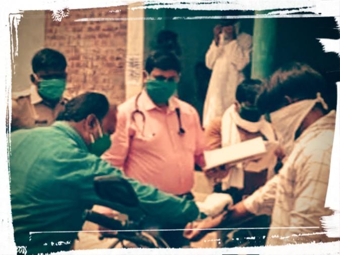 बस्ती:निजी बस से मुंबई से भानुपर पहुंचे 17 लोग
