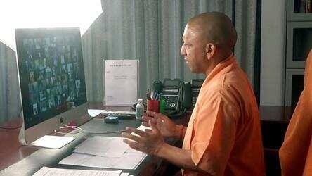 UP:15 अप्रैल से लॉकडाउन खोलने की तैयारियां तेज, सीएम योगी ने सांसद-विधायकों से मांगे सुझाव