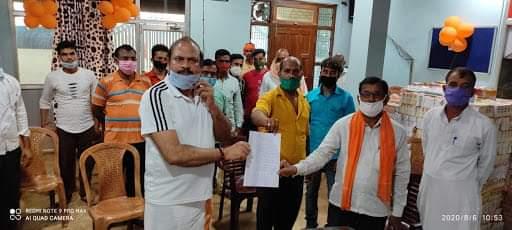 बस्ती:कप्तानगंज में व्यापारियों ने प्रशासन पर लगाया उत्पीड़न का आरोप,विधायक सी.पी.शुक्ला को सौंपा ज्ञापन