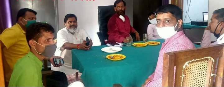 बस्ती:आदर्श नगर पंचायत बभनान कार्यालय पर हुई बोर्ड की बैठक ;सईद खान