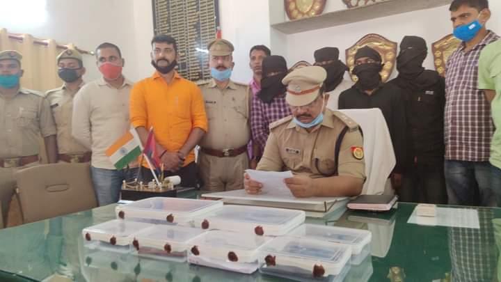 बस्ती: पुलिस की सक्रियता से बची युवक की जान,सुपारी सूटर सहित 4 गिरफ्तार
