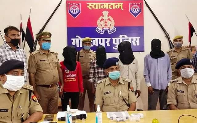 गोरखपुर:खुद का साथी ही निकला प्रॉपर्टी डीलर इंद्रासन का हत्यारा