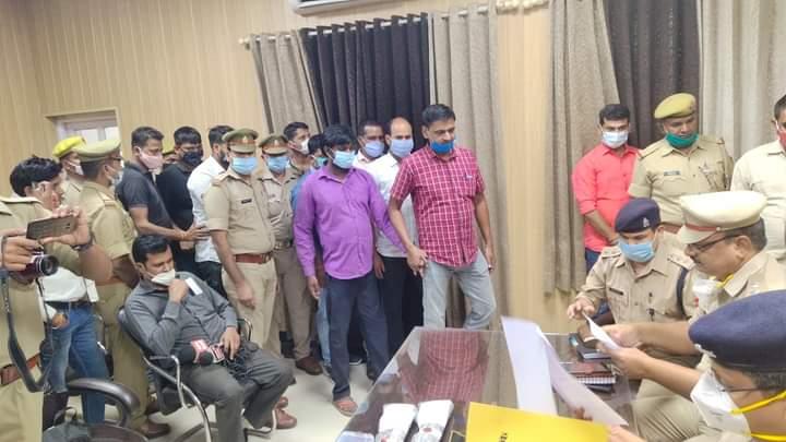 UP:एडीजी जोन गोरखपुर द्ववारा एक लाख रुपये का ईनामिया घोषित बदमाश को बस्ती पुलिस ने किया गिरफ्तार