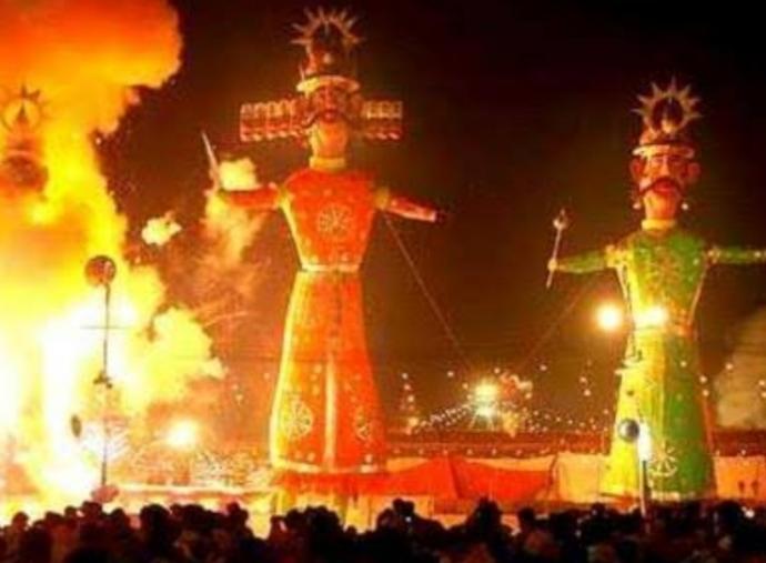 इस बार दशहरा उत्सव और रावण के पुतला दहन पर नहीं दिखाई देगी चहल-पहल
